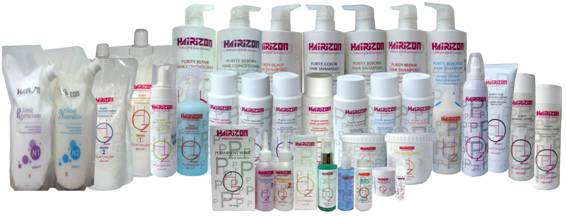 HAIRIZON Professional product family