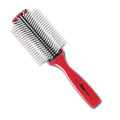 Vess C-150R 9-row brush, red
