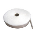 222 100% round cotton roll, white