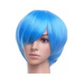 CHW-1 Blue Short Cosplay Hair Wig