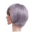 CHW-7 Taupe Grey Short Cosplay Hair Wig