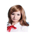 CHW-12 Red Medium Cosplay Hair Wig