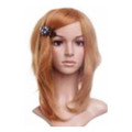 CHW-14 Blonde Medium Cosplay Hair Wig