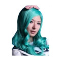 CHW-17 Green Long Cosplay Hair Wig