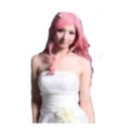 CHW-20 Pink Long Cosplay Hair Wig