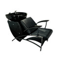 32804C-047 shampoo basin chair set, black
