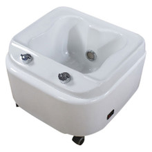 PSA-1-009-M acrylic foot bath sink with massage