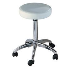7082-009-AD adjustable stool, white
