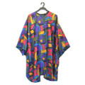 Horng Ing 309 African print cape