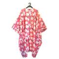 UB Floral tk pink cape 130x150cm