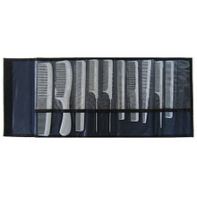 Starflite 10pc comb set with pouch