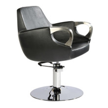 9021-001 styling chair, black