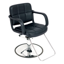 9024-001 styling chair, black
