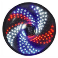 200-4-RC LED barber sign pole light Spiral