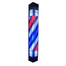 200-2-T-RC LED barber sign pole light Triangle 90cm
