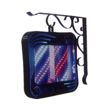 200-8-SQ-RC LED barber sign pole light