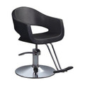 9005-WR6-001 styling chair, black