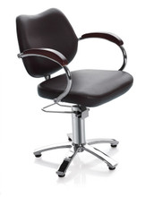 9025-001 styling chair, black