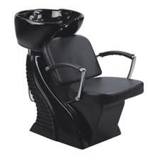 32804CHE-061 shampoo basin chair set, black