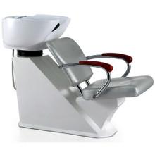 32804CHH-012 shampoo basin chair set, silver