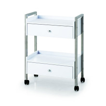 2703B1-009  beauty trolley with two drawers