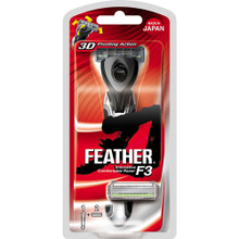 Feather F3 (1000SE) Catridge Shaving Razor