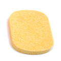 1-RT-BG Rectangular facial sponge, T12mm, beige