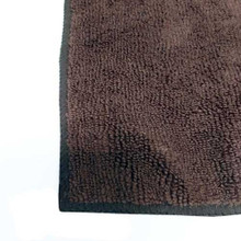 Microfibre spa towel 16x32in 100g, dark brown 12pc/pk