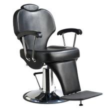 31307M-001 barber chair, black