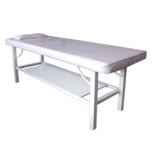 3767B-009-LH 1 section massage bed, white