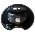 CS25-001   ceramic sink for shampoo basin