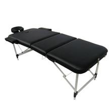 3729F-III-001-L Portable Massage Table, black
