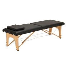 3729I-II-061-X Portable Massage Table, brown