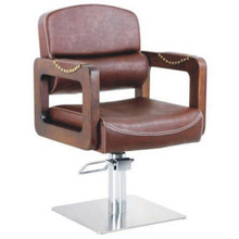 9031-061-V vintage styling chair, brown