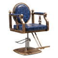 9039-WS2V-002 vintage styling chair, blue