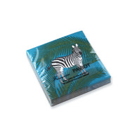 Zebra Cocktail Napkin