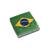 Brazilian Flag Cocktail Napkin