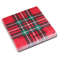Red Tartan Dinner Napkin