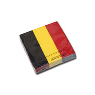 Belgian Flag Cocktail Napkin