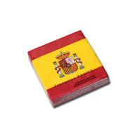 Spanish Flag Cocktail Napkin