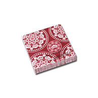 Boheme Red Cocktail Napkin