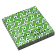 Tressage Green Dinner Napkin