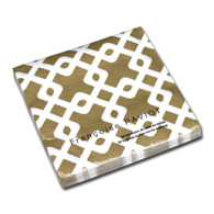 Entrelacs Gold Dinner Napkin