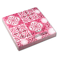 Pink Carreaux Dinner Napkin