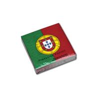 Portuguese Flag Cocktail Napkin