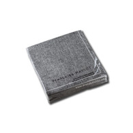 Grey Linen Cocktail Napkin