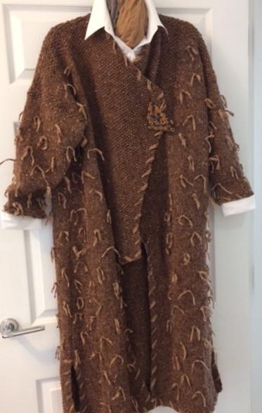 Chocolate Tweed Front