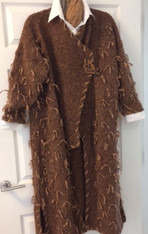 Chocolate Tweed Front
