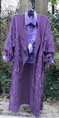 Grape Coat Front