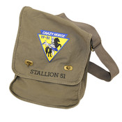Stallion 51 Canvas Messenger Bag